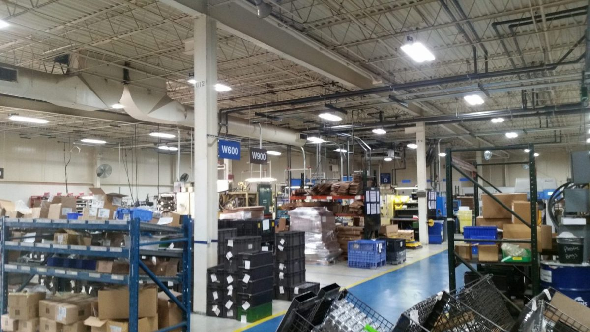 Concentric chooses SLS lighting solution for 125k square-foot facility